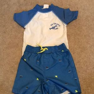 12-18 month baby boy bathing suit